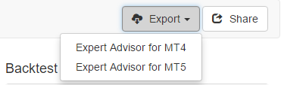 Export Expert Advisor