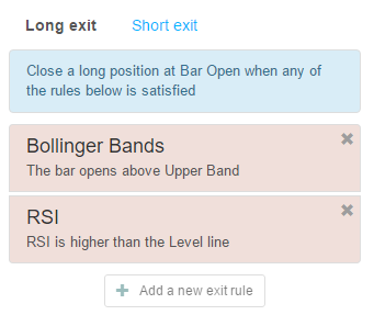 Two long exit rules