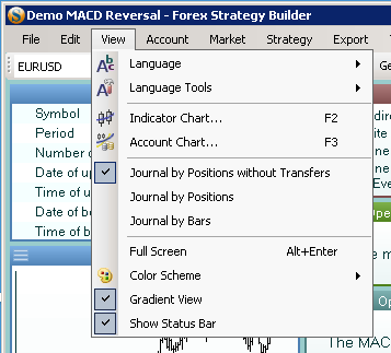 forex journal software