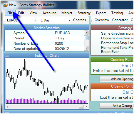Trading strategy builder manual